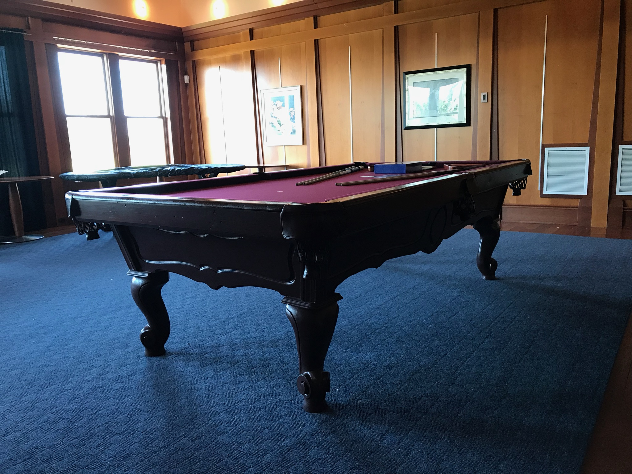 Merveilleux Cateechee Golf Course Recently Purchased A 9 Foot Pool Table For Their  Surprise Recreation Room For Their Members. The Room Was Beautiful And The  Table ...