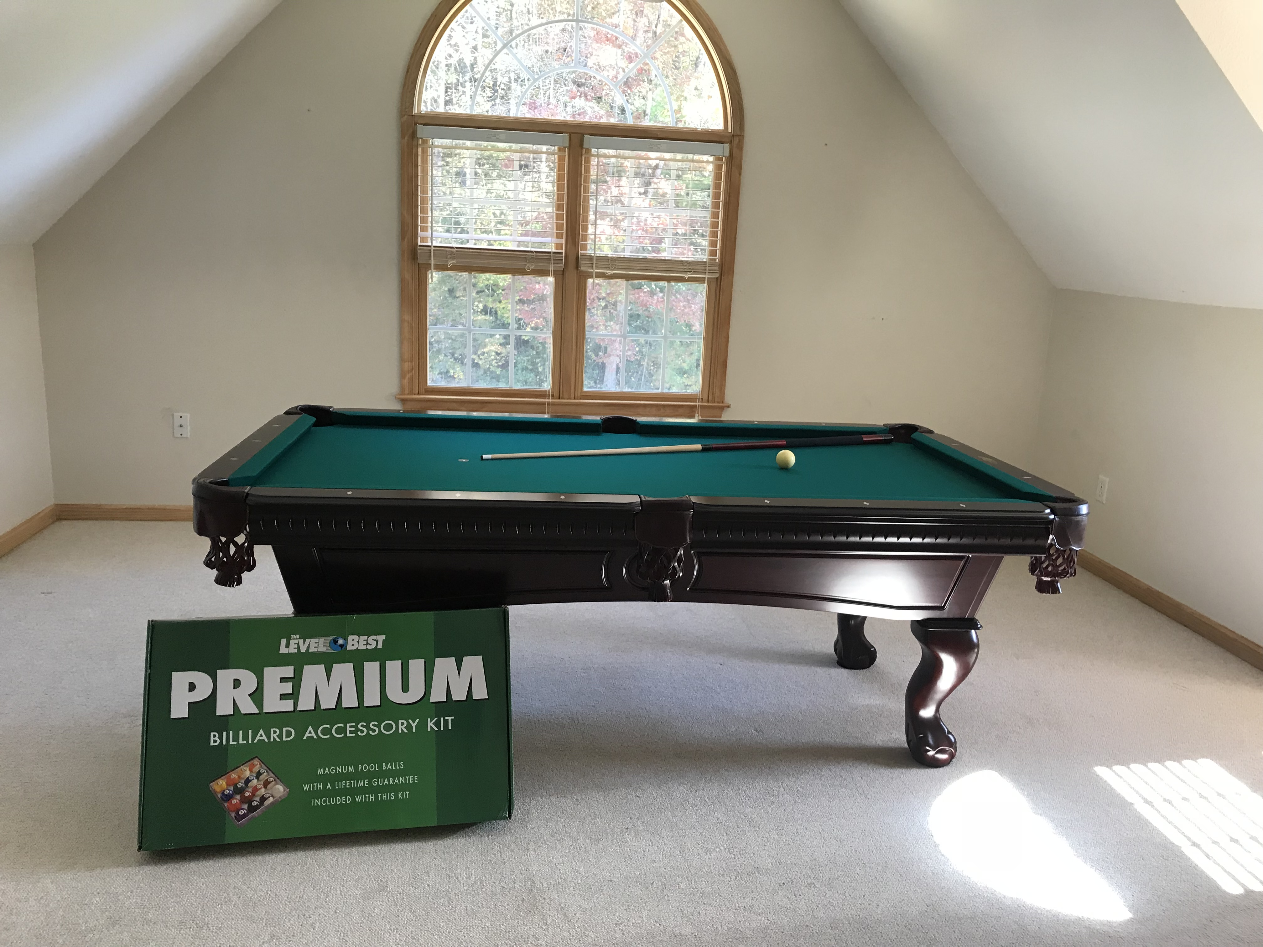 Superieur One Customer In Greenville, SC Enjoyed This Traditional Mahogany Pool Table  Just In Time For Their Big Christmas Party! Enjoy!